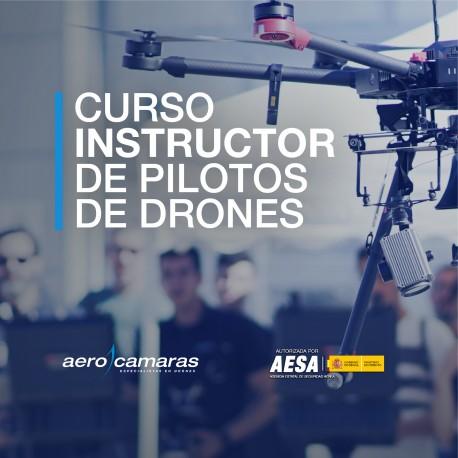Certificado Oficial Instructor de Pilotos de Drones AESA