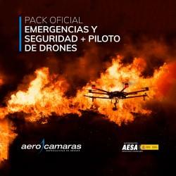 Pack Curso Oficial Piloto Profesional + Curso Emergencias y Seguridad