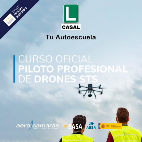 Curso Oficial de Piloto Profesional de Drones (STS) AESA/EASA