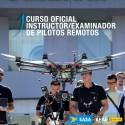 Certificado Oficial Instructor/Examinador de Pilotos Remotos