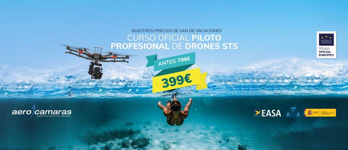 Promoción Curso de Drones