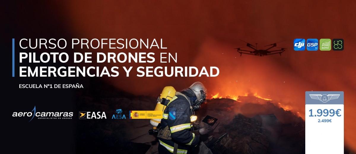Curso De Piloto De Drones En Emergencias y Seguridad