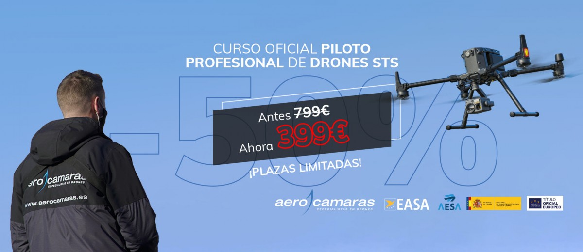 Curso Oficial Piloto de Drones Profesional