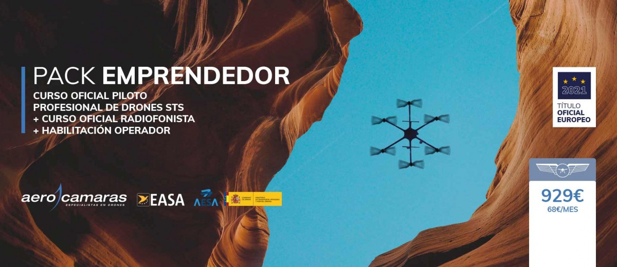 Pack Emprendedor Curso de Drones